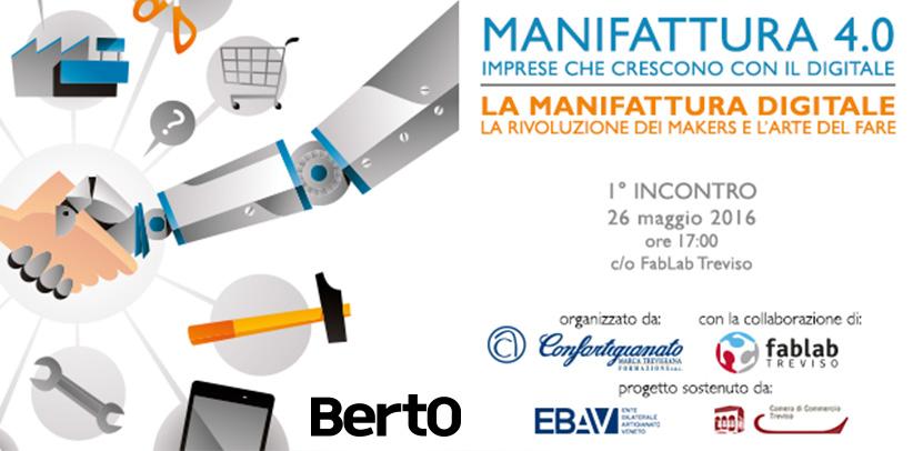 Herstellung 4.0 und das BertO Beispiel in Treviso