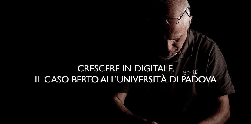 Filippo BertO-Fall an der Universität von Padua.