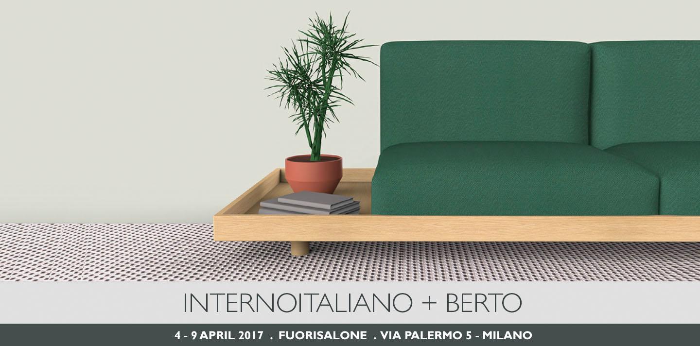 BertO und INTERNOITALIANO präsentieren MEDA auf der Ausstellung Fuorisalone 2017