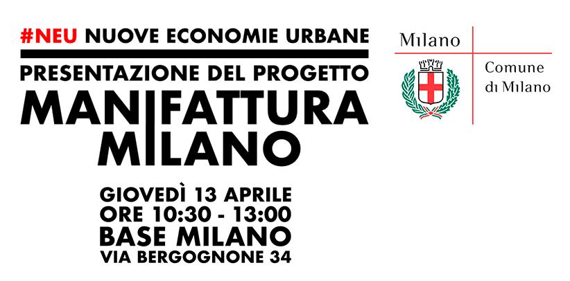 Filippo Berto nimmt an der Präsentierung des Projektes Manifattura Milano teil.