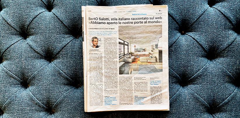 Interview mit Filippo Berto in Il Giorno