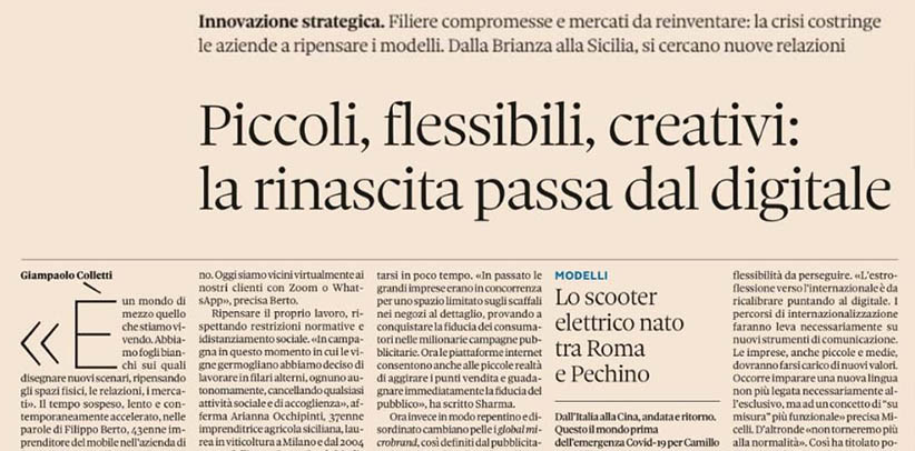 Interview mit Filippo Berto in Nova Il Sole 24 ore