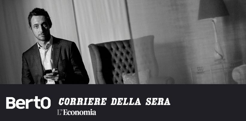 Interview mit Filippo Berto in der Wirtschaftsbeilage der Corriere della Sera