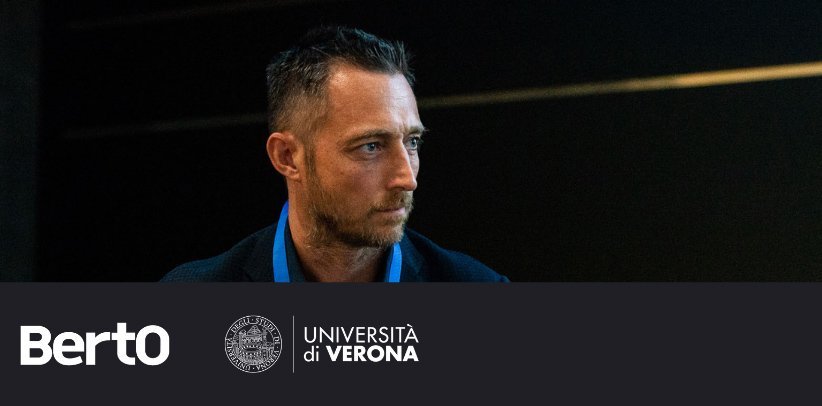 filippo berto spricht über Made in Meda im territorial marketing kurs an der universität von verona