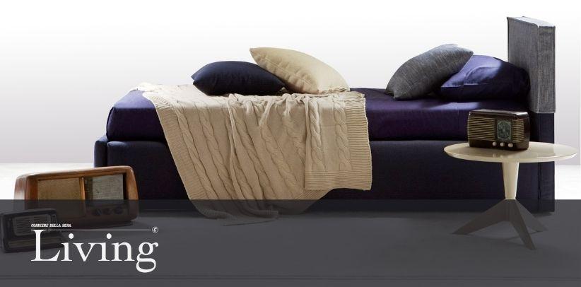 Das Bett Summer B in der neuen Living Galerie - Corriere della Sera