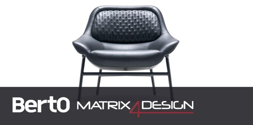 sessel hanna von berto mit dyloan protagonist des design4matrix artikels