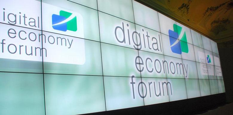 BertO auf dem Digitalwirtschaftsforum BertO News