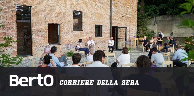 Der Corriere della Sera-Artikel über LOM - Die Cascina artigiana 4.0