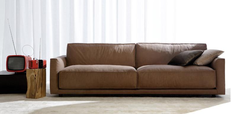 Das Sofa Ribot, ein Meister der Eleganz
