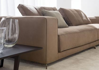 Modularsofa christian aus leder berto salotti for Ledersofas outlet