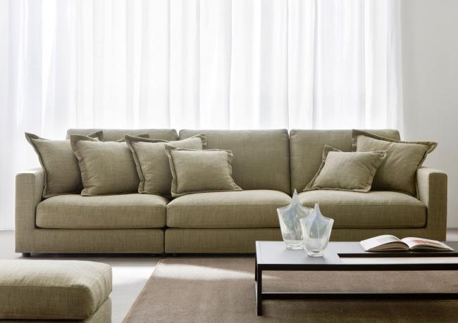 Modernes Sofa Morris - Berto Salotti