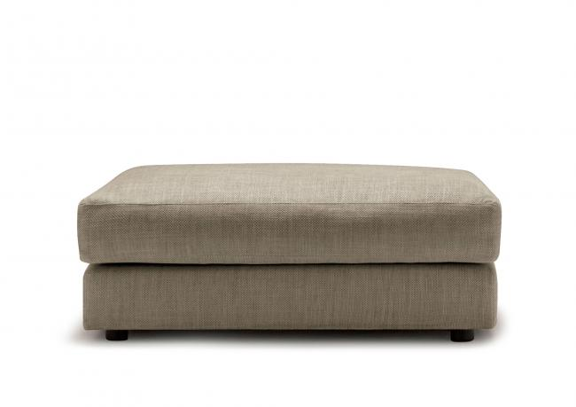 Morris hocker berto salotti for Dalani pouf