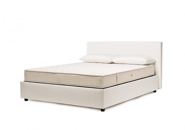 Bett ebe koptfteil stoff berto salotti for Moderne einzelbetten