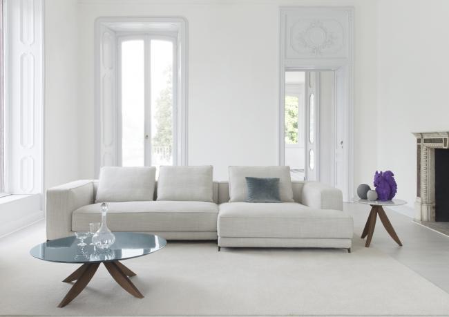 sofa nach ma mit chaiselongue christian berto shop. Black Bedroom Furniture Sets. Home Design Ideas