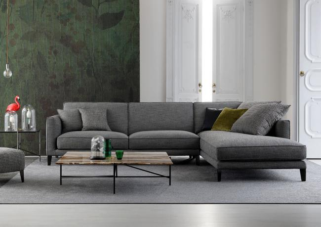 Sofa Time Break Mit Hohen Füßen Berto Shop