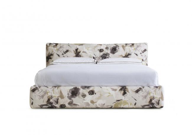 bett soho aus stoff chivasso berto shop. Black Bedroom Furniture Sets. Home Design Ideas