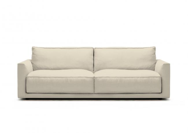 Outlet | Sofa aus Leinen Ribot - BertO Shop