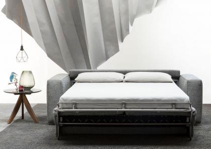 Bettsofa mit matratze und bettkasten  Schlafsofa Nemo 18 mit Matratze h. 18 cm - Berto Salotti