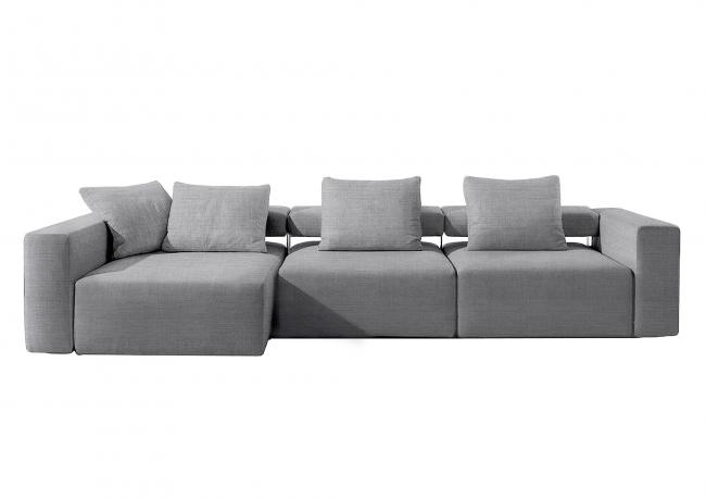 Outlet relax sofa mit chaise longue berto shop for Ledersofas outlet