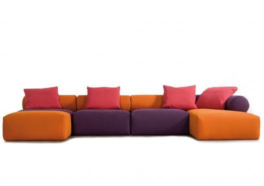 modular sofa puzzle berto salotti. Black Bedroom Furniture Sets. Home Design Ideas