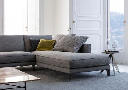 Modular sofa Time Break - Berto Salotti