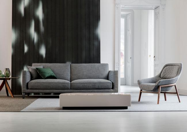 Poltrone Moderne Design : Moderne sofa time break berto salotti