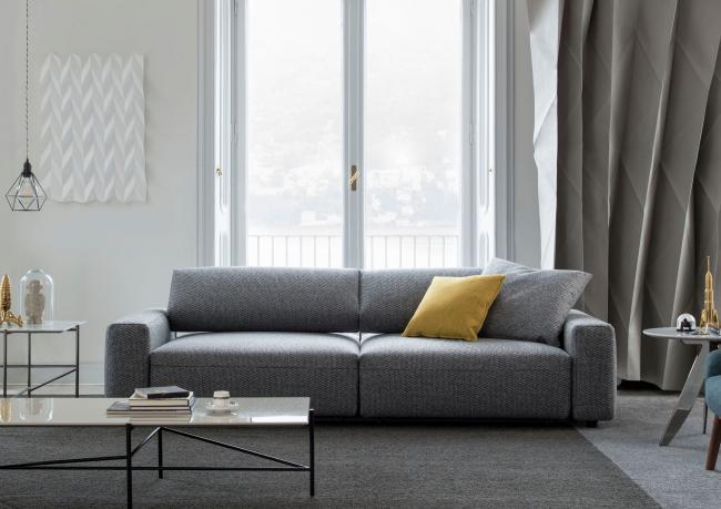 sofa mit verstellbaren r ckenlehnen harley nach mass. Black Bedroom Furniture Sets. Home Design Ideas